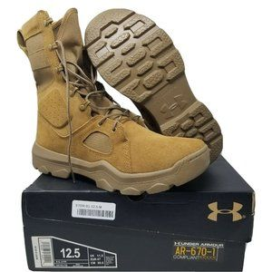 Under Armour FNP Tactical Military Boot Brown 12.5